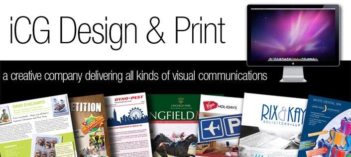 ICG Design & Print logo