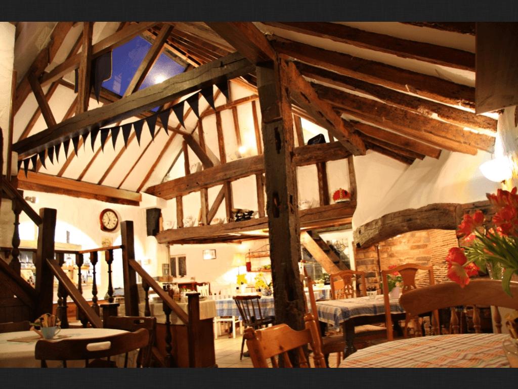 Cobblestone tea house