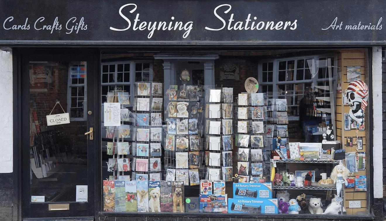 Steyning Stationers shopfront