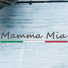 Mamma Mia italian restaurant Steyning logo