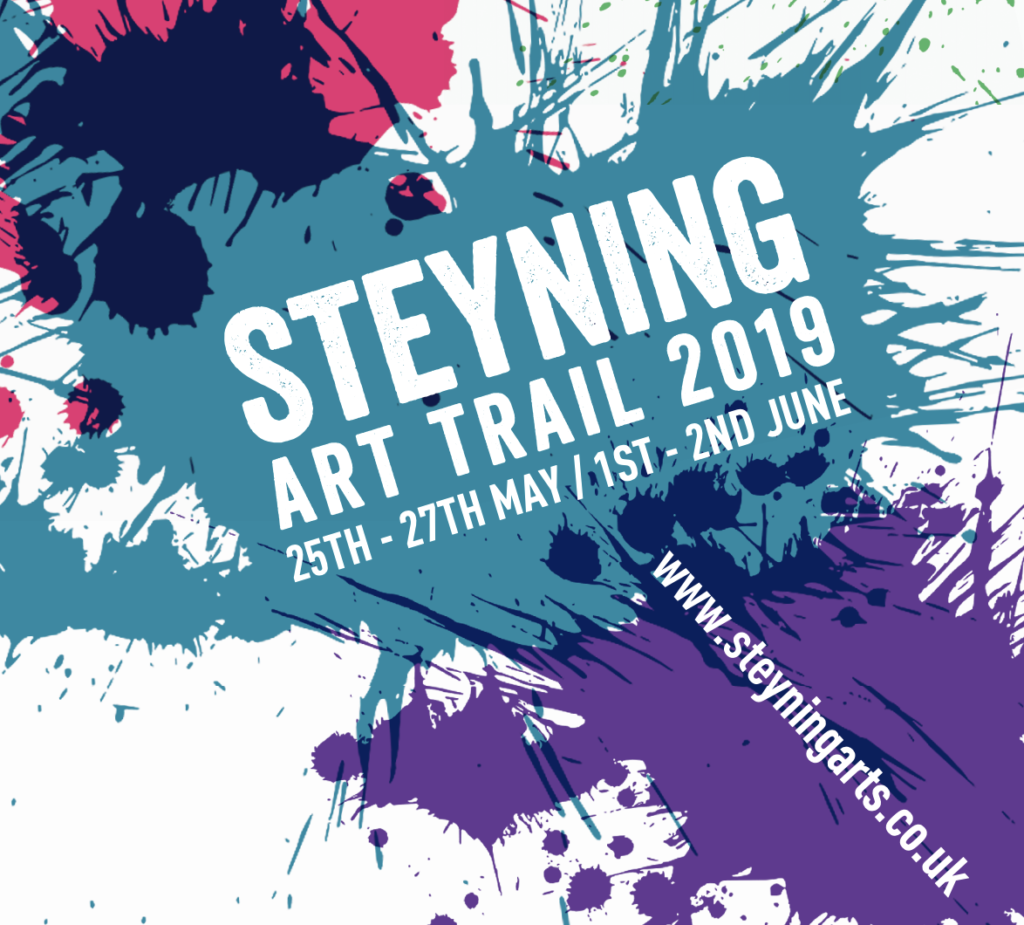 Steyning Art Trail 2019 brochure cover