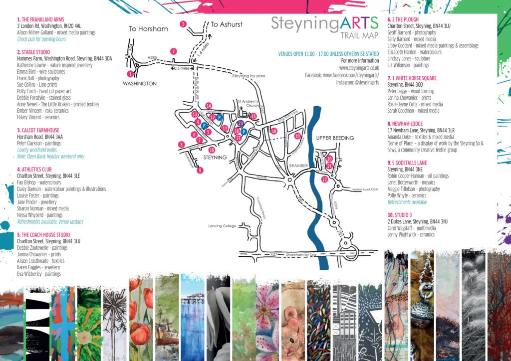 Steyning Arts Trail 2019 Map